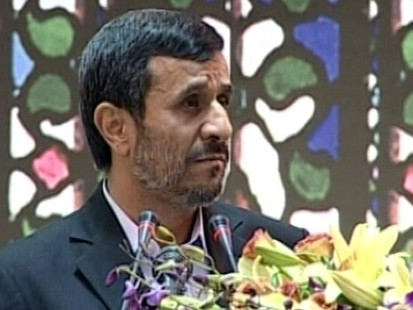 VIDEO: Attack on Ahmadinejad