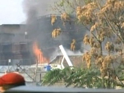VIDEO: Taliban militants stormed a guest house used by U.N. staff, killing 12 people.