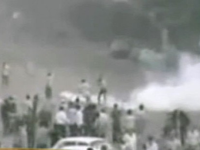 VIDEO: Iranian media reports several killed and more than 100 injured.