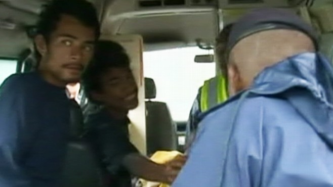 Video: Teens rescued after 50 days at sea.