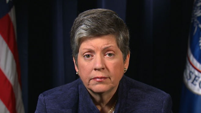 VIDEO: Janet Napolitano of Homeland Security