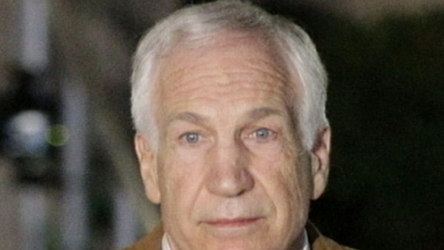 VIDEO: The former Penn State coach was convicted on 45 counts of sexual events.