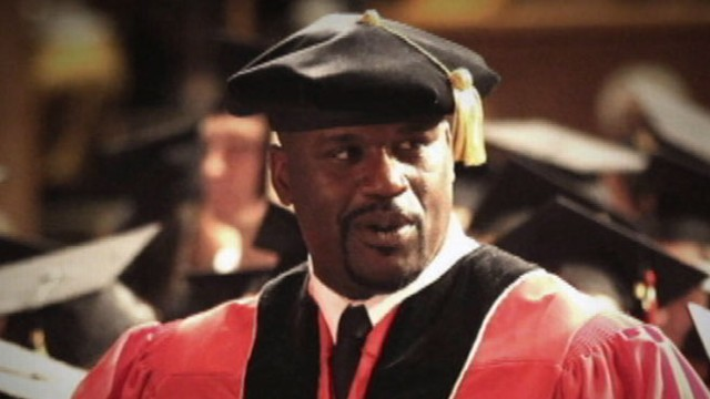 VIDEO: NBA basketball star and reality star earns a PhD.