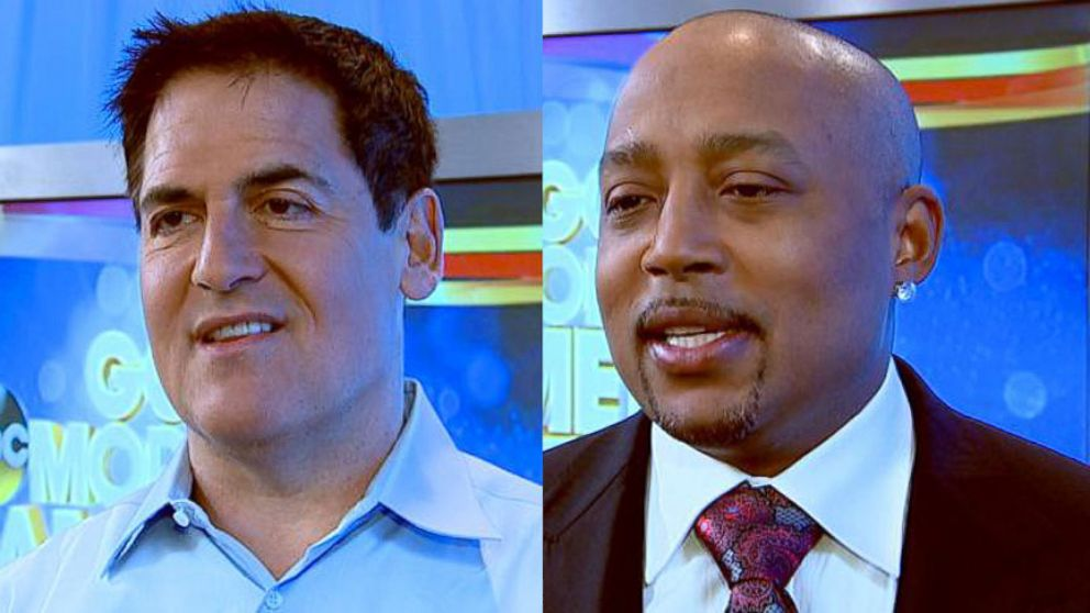 VIDEO: The Best Advice Mark Cuban and Daymond John Ever Got