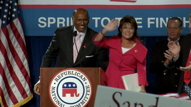 VIDEO: Sarah Palin finds herself a target in response to remarks made on Facebook.