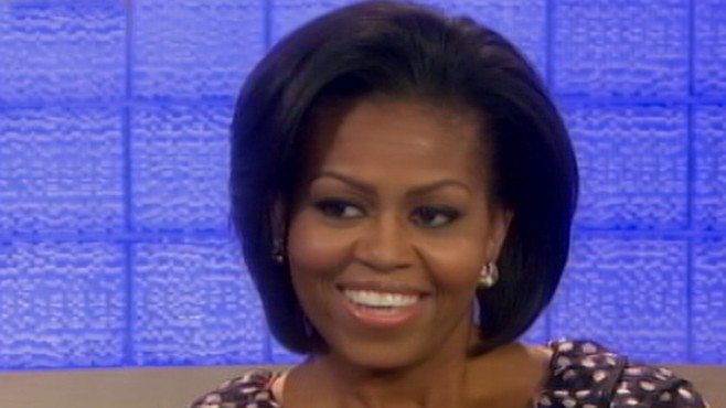 First lady's refusal to allow daughters on Facebook results in national debate.