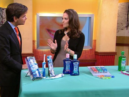 VIDEO: Dr. Nancy Rosen shows you how to keep your pearly whites white.
