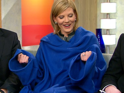 VIDEO: Snuggie Mania