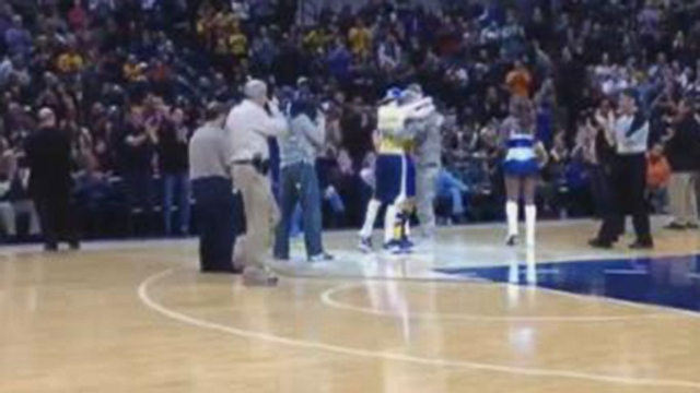 VIDEO: Soldier Surprises Brothers at Pacers Game
