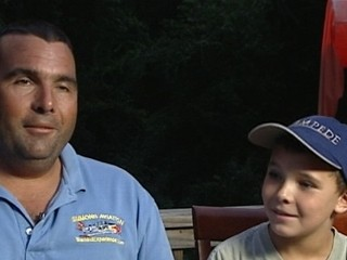 Watch: Pilot Saved by Son, 8, After Plane Crashes