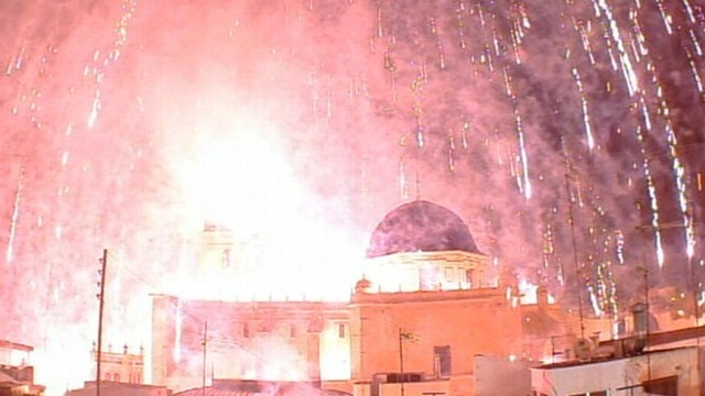 Rogue Firework Injures 28 in Spain
