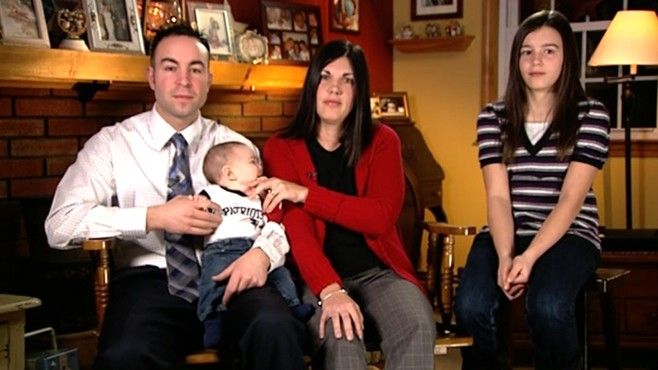 VIDEO: New parents' ordeal has some wondering if an impending birth justifies speeding.