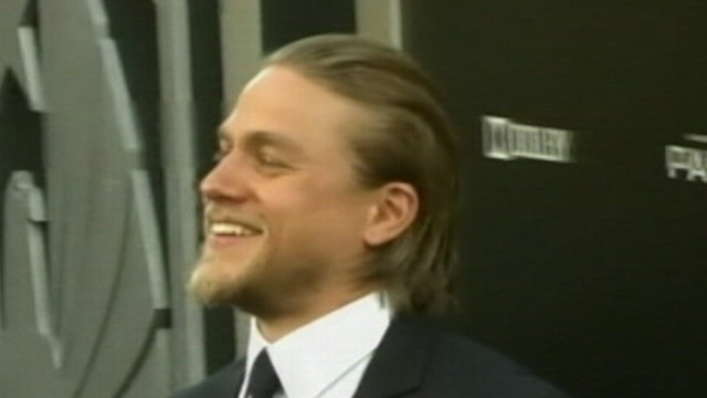 VIDEO: Charlie Hunnam will play Christian Grey and Anastasia Steele was cast as Dakota Johnson.