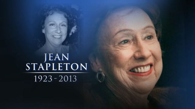 VIDEO: All in the Family Actress Jean Stapleton Dies