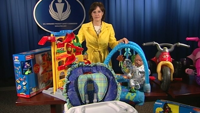 VIDEO: Fisher Price Recall