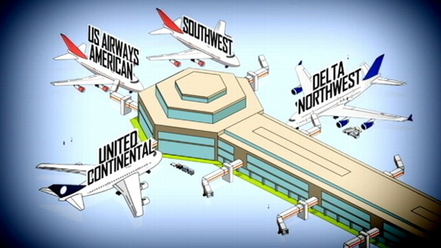 VIDEO: The $11 billion deal will form the world's largest airline.