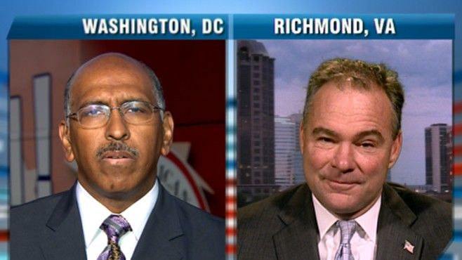 VIDEO: DNC Chairman Tim Kaine and RNC Chairman Michael Steele discuss midterms.