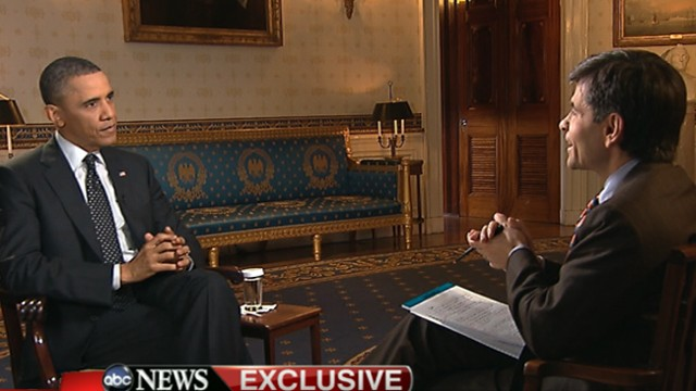 VIDEO: The president speaks with George Stephanopoulos to discuss on budget battle, North Korea and more.