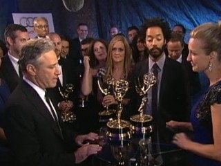 Watch: Emmys 2012 Winners: Kevin Costner, Claire Danes and Jon Stewart