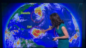 VIDEO: Storms Forming in the Atlantic Ocean