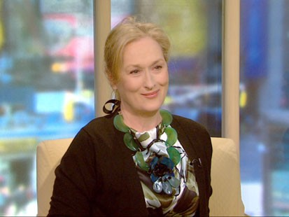 A picture of Meryl Streep.