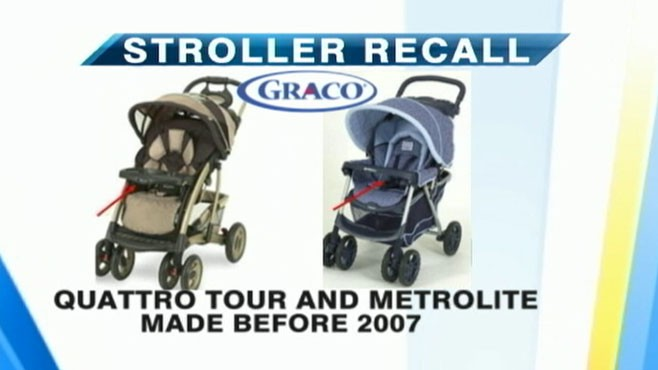VIDEO: Graco recalls strollers after 4 infants died of strangulation.