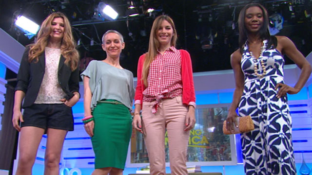 PHOTO: Good Morning Americas Lara Spencer talks this summers fashion trends.