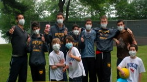 VIDEO: Camps are dealing with cases of swine flu.