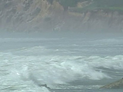 VIDEO: The hurricane hit Marthas Vineyard this morning and continues to travel south.