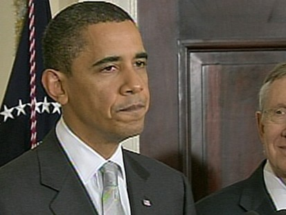 VIDEO: Republicans are calling for the senator to step down over remarks about Obama.