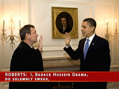 Obama Took Oath of Office Again