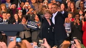 VIDEO: The president fights to keep Sen. Kennedys Senate seat for the Democrats.