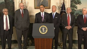 VIDEO: The president pushes new regulations to limit bank size, risky behavior.