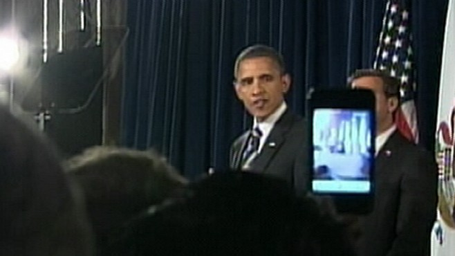 VIDEO: Obama accuses the Republicans of taking donations from foreign companies.