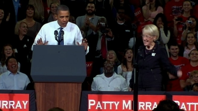 VIDEO: The president fights to save the Democratic majority in Congress.