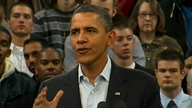 VIDEO: The President wrapped-up his final multi-state campaign swing.
