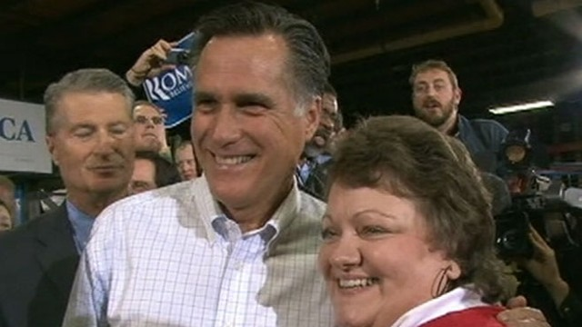 VIDEO: Jake Tapper discusses new polls showing Mitt Romney is the new front-runner.