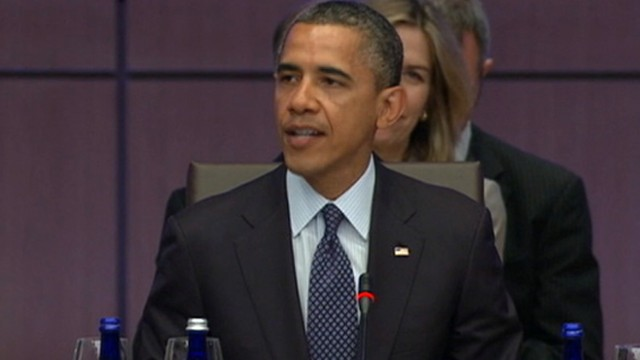 VIDEO: Jake Tapper discusses the meeting between world leaders in Chicago.