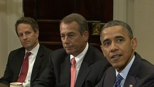 "VIDEO: Both sides are set to meet with business leaders as the ""Fiscal Cliff"" approaches."