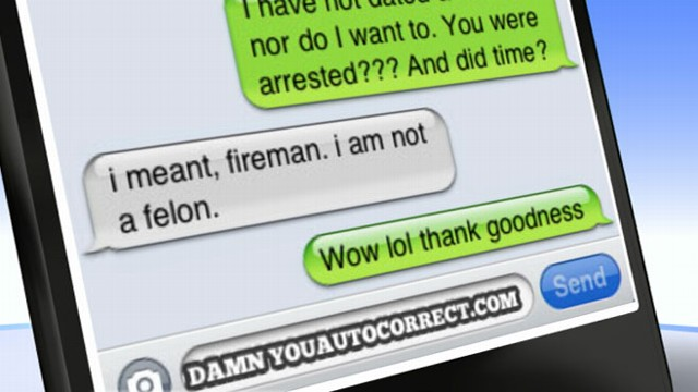 "VIDEO: ""Damn You AutoCorrect"" gets about 600 submissions from iPhone users a day."