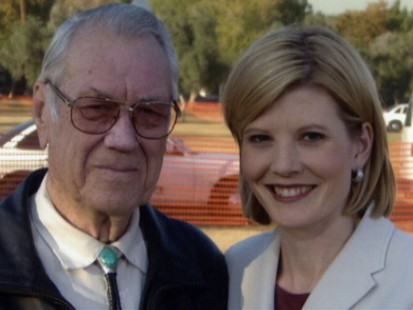 Kate Snow and Her Grandfather
