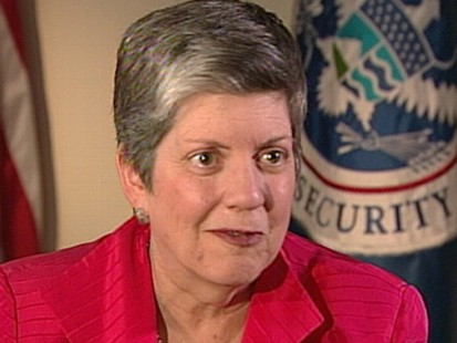 VIDEO: Homeland Security Secretary Janet Napolitano discusses her pressure-filled job.
