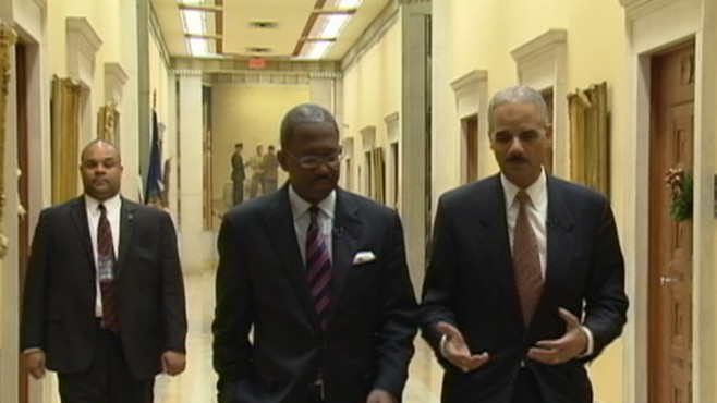 VIDEO: Attorney General Eric Holder says threat has shifte