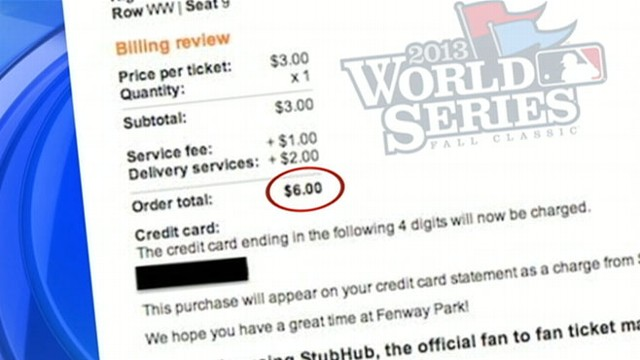 VIDEO: Man Buys World Series Ticket for $6