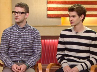 VIDEO: Stars Justin Timberlake and Andrew Garfield talk about the new movie.
