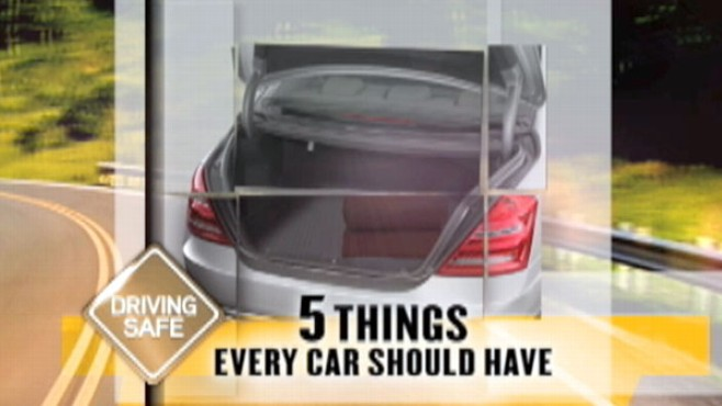 VIDEO: Are you and your car prepared for an emergency?