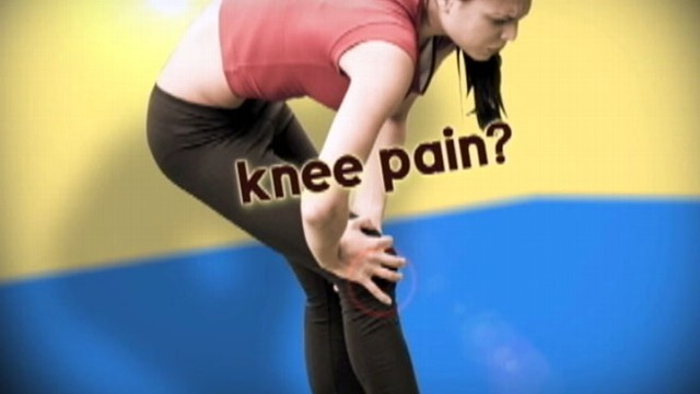 VIDEO: How to get a good workout, even when you have knee pain.