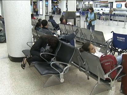 VIDEO: Airlines and mass transit are calling for widespread cancellations as hurricane threat looms.