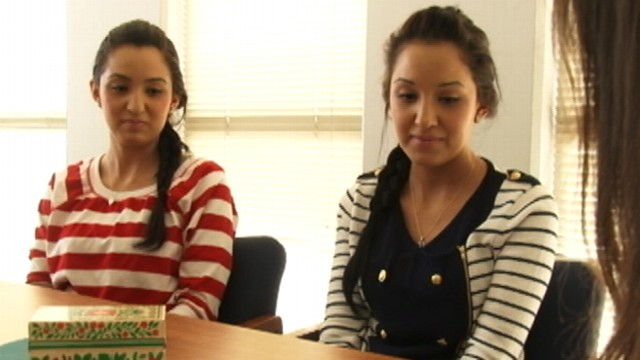 VIDEO: J.J. Pearce high school has a record 10 pairs of twins, all in 11th grade.