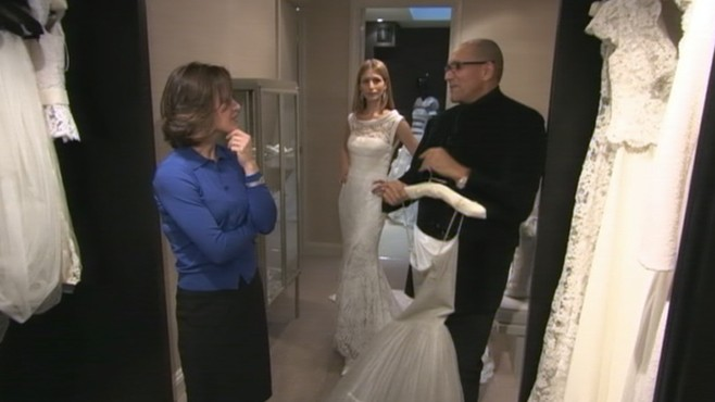 VIDEO: Elizabeth Vargas speaks with one of the top contenders to design Kate's gown